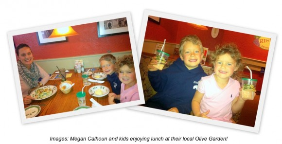 Take Our Daughters And Sons To Work Day And Free Kids Meal From Olive Garden Ogfamilyday