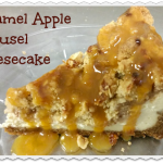 Caramel Apple Streusel Cheesecake
