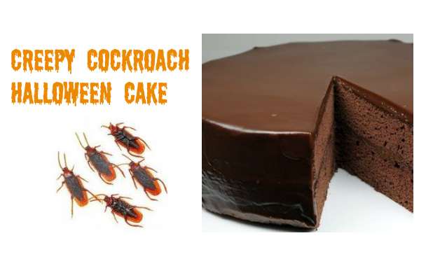 Creepy Cockroach Cake