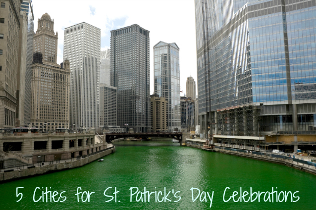 St Patricks Day Cities